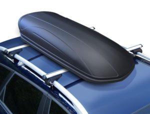 Dachbox VDP-MAA320 schwarz/matt abschließbar